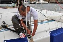 Transat Jacques Vabre : Damien Seguin et Yoann Richomme voulaient voir la Normandie