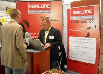 Abalone interim for Agence interim paysagiste nantes