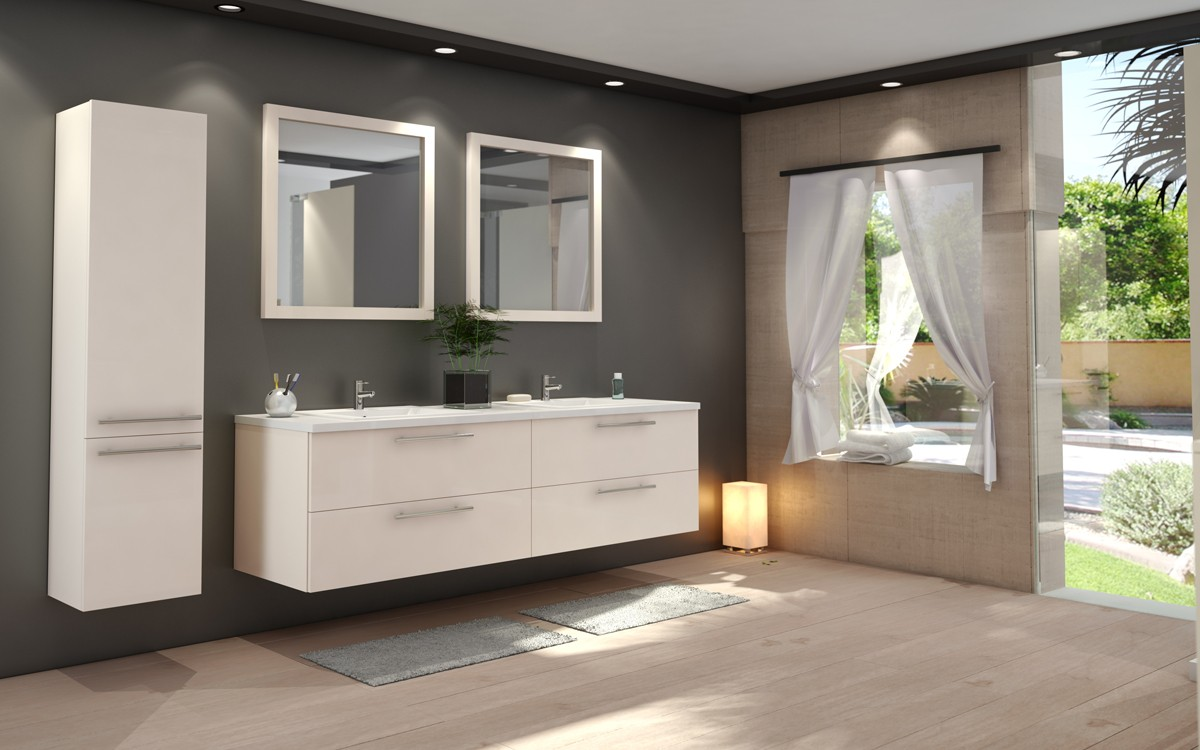 nos mod les de salle de bains tendance sur mesure. Black Bedroom Furniture Sets. Home Design Ideas