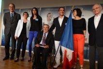 Le navigateur Damien Seguin, Porte-drapeau de l'Equipe de France Paralympique !