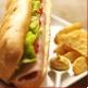 Menu Sandwich frites