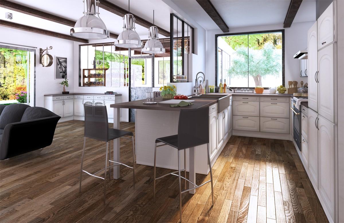 facade cuisine en kit. Black Bedroom Furniture Sets. Home Design Ideas