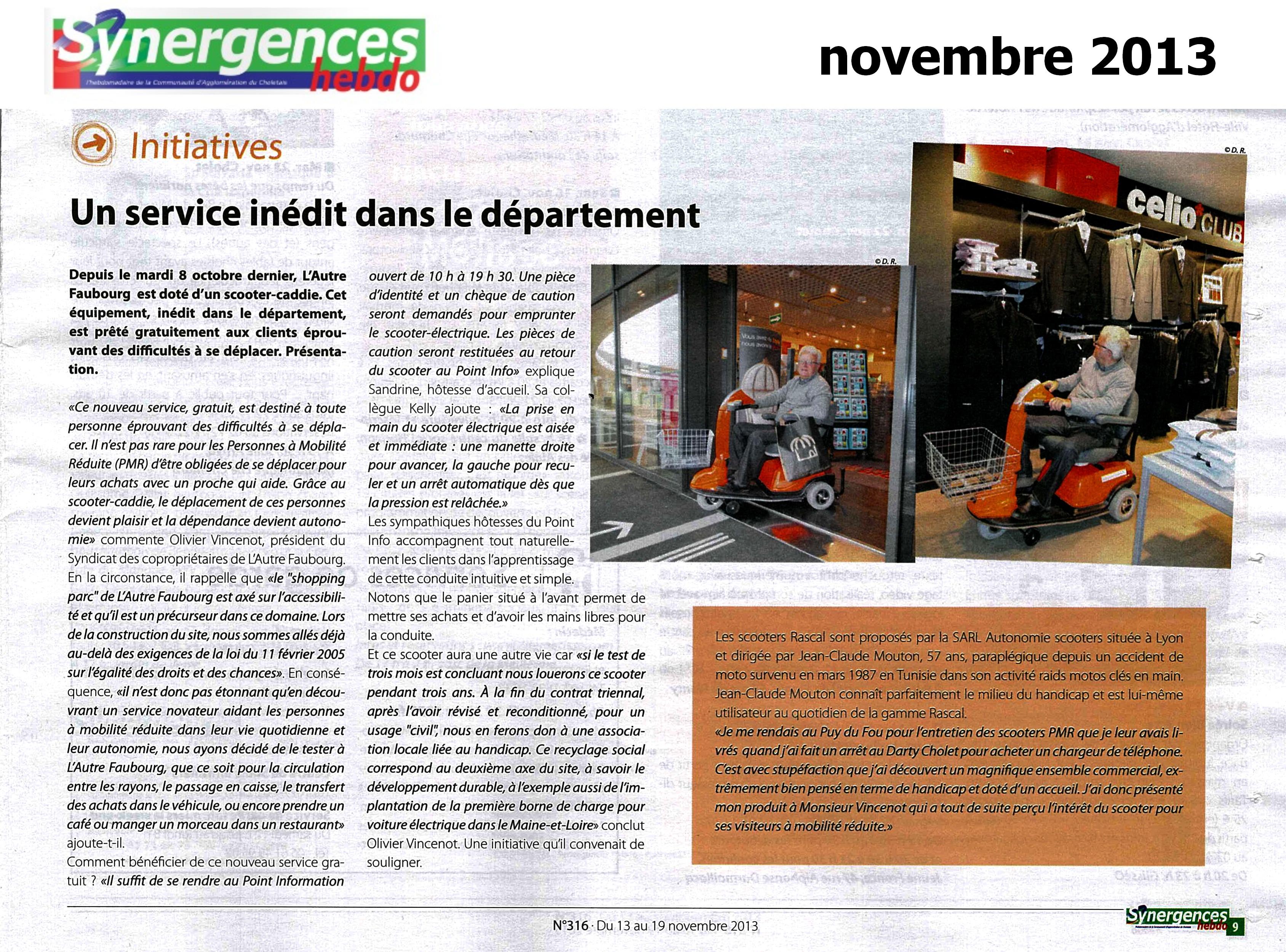 synergences 11 novembre