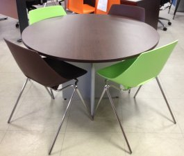 TABLE RONDE WENGE DIAM 1200MM -30%