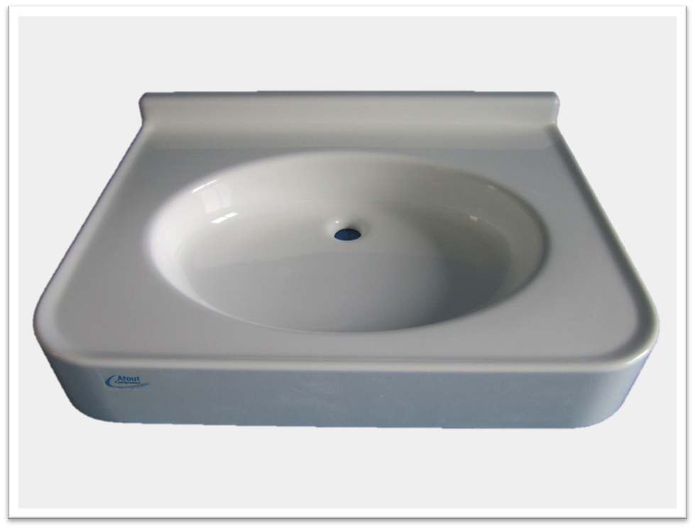 plans vasques sur mesure pmr atout composites. Black Bedroom Furniture Sets. Home Design Ideas