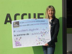 La remise officielle des 1000€