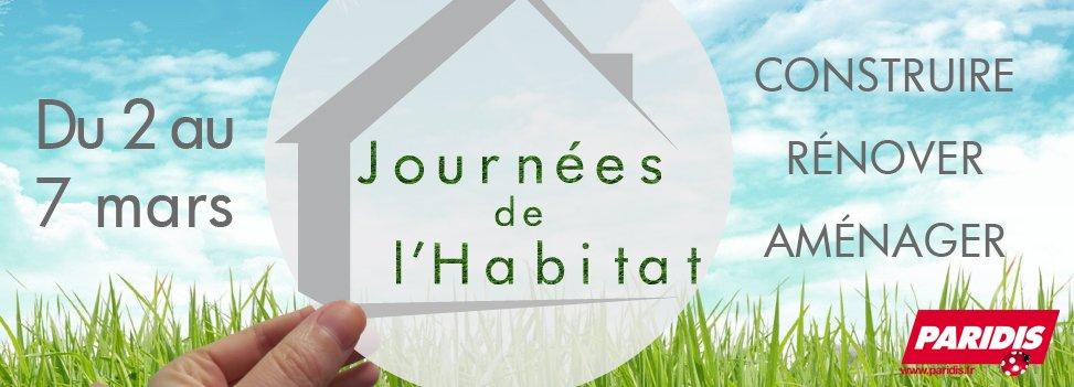 Les Journées de l'Habitat à Paridis !