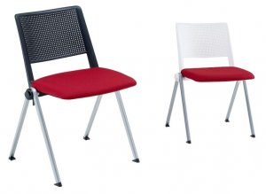CHAISE MULTI-USAGE LINE ASSISE TAPISSEE