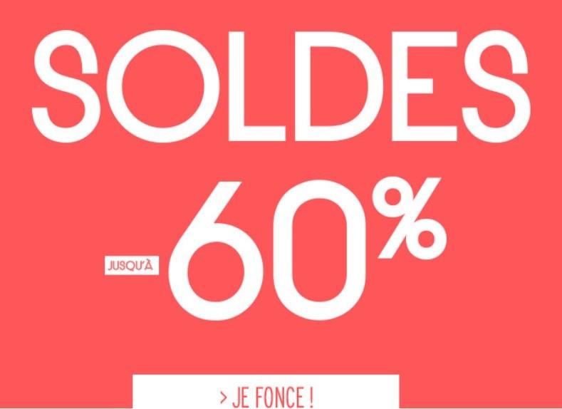 SOLDES JUSQU'A -60%