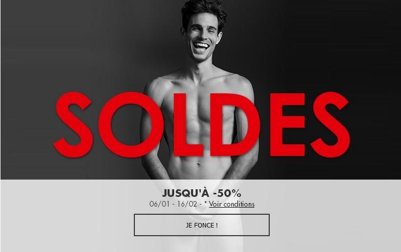 SOLDES JUSQU'A -50%