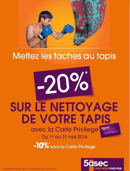 Promotion Tapis !