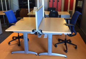 ENSEMBLE DUO STEELCASE TNT L1400