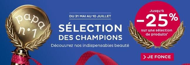 Selection des Champions
