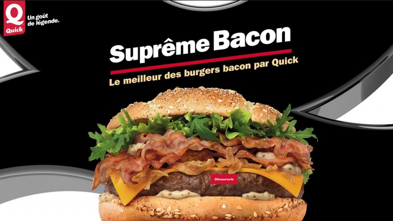 Une envie Suprême de bacon ?