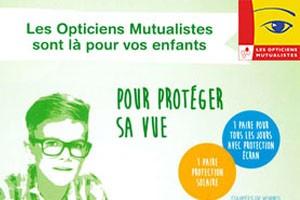 Protégez la vue de votre enfant