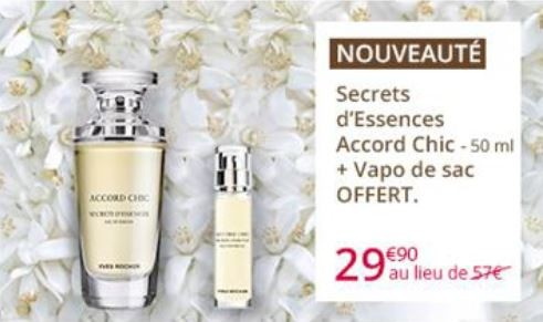 Secrets d'essences Accord Chic