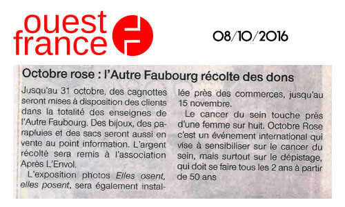 article Octobre Rose 2