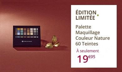 Palettes maquillage 60 teintes