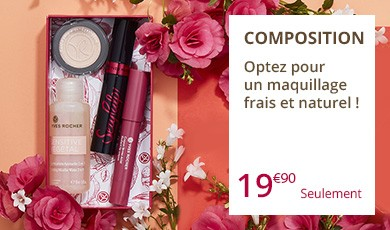 Composition maquillage