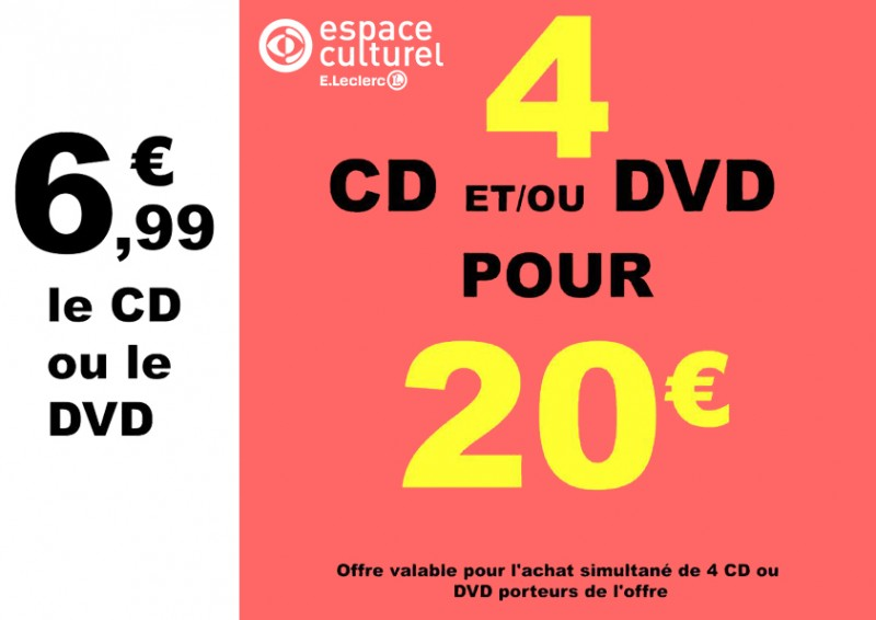 Promotions CD/DVD
