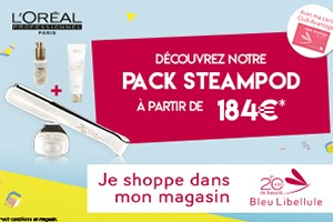 Le pack Steampod