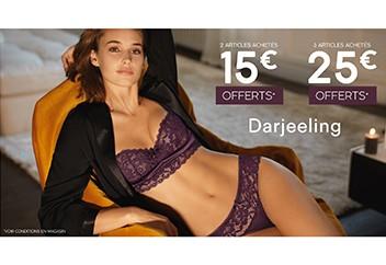 15€ ou 25€ offerts - Darjeeling