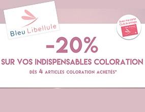 -20% sur vos indispensables coloration !