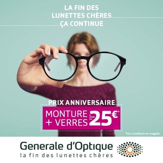 Offre Anniversaire 25 ans = 25€
