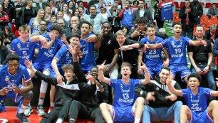 Les U17 à Bercy