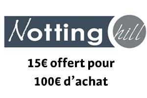 15€ offert pour 100€ d'achat