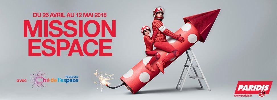 MISSION ESPACE - du 26 avril au 12 mai 2018