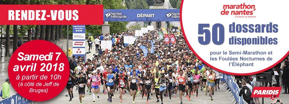 Paridis partenaire du Marathon de Nantes !