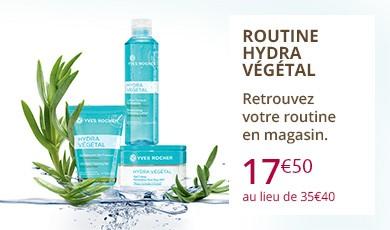 Routine Hydra Végétal