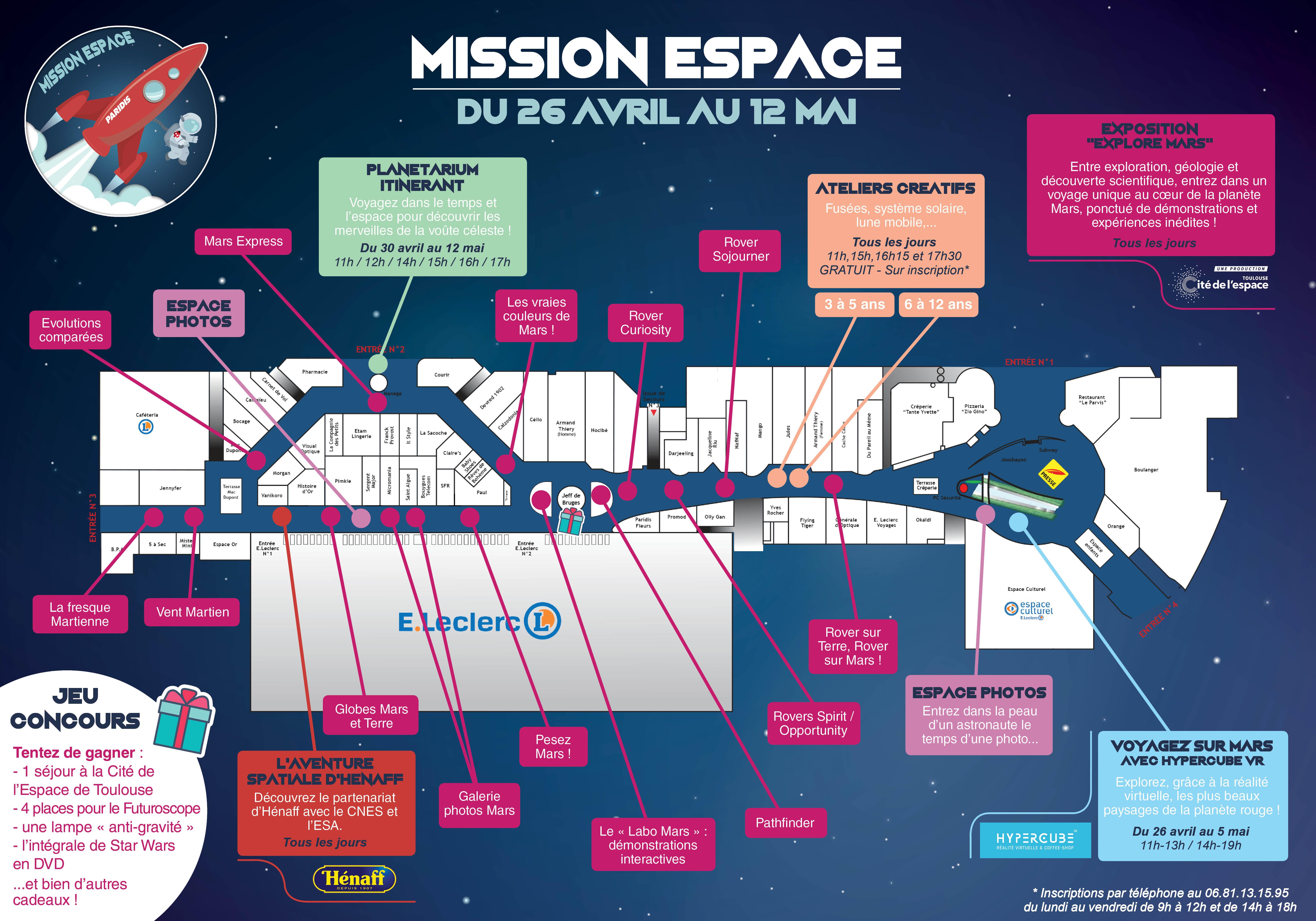 programme général - mission espace