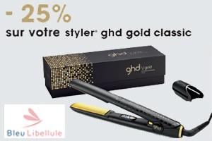 Lisseur styler ghd gold à - 25%