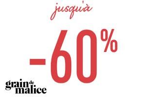 Promos jusqu'à -60%