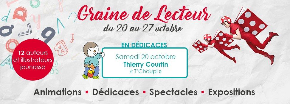 GRAINE DE LECTEUR - du 20 au 27 octobre 2018