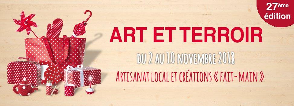 ART ET TERROIR - du 2 au 10 novembre 2018