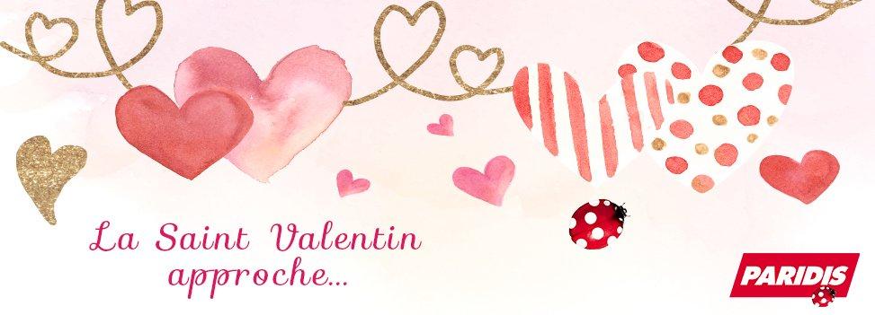 La Saint Valentin approche...