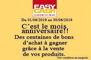 Anniversaire Easy Cash