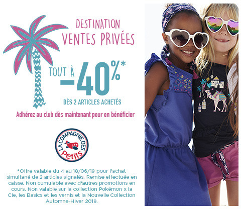 DESTINATION VENTES PRIVEES