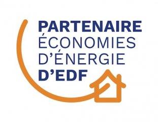 Notre partenaire EDF met à jour son logo