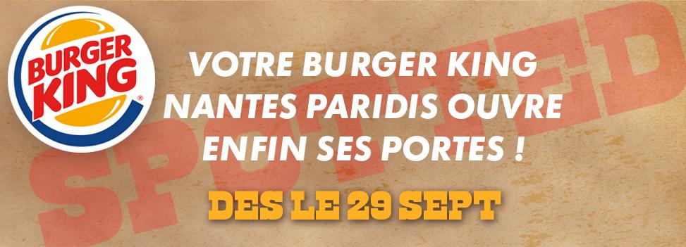 Ouverture Burger King